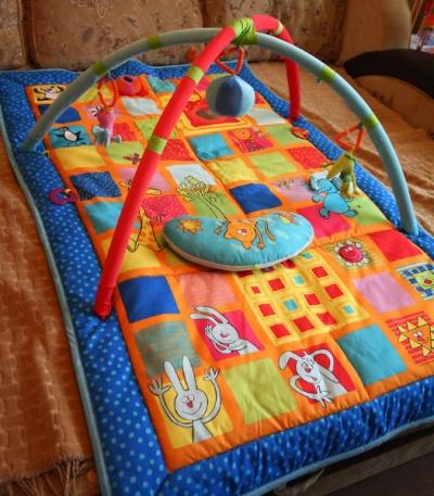 Можно ли стирать развивающий коврик